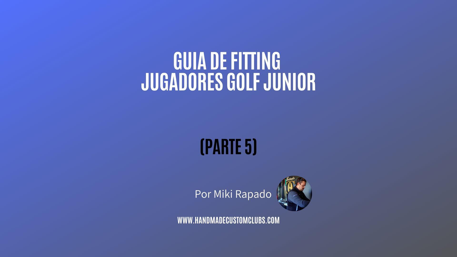 jugadores de golf junior